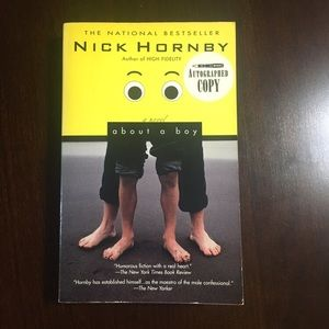 "SIGNED Nick Hornby ""About A Boy"""